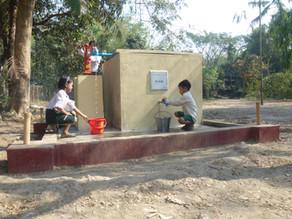 ミャンマーの子どもたちのための井戸建設を支援しました!