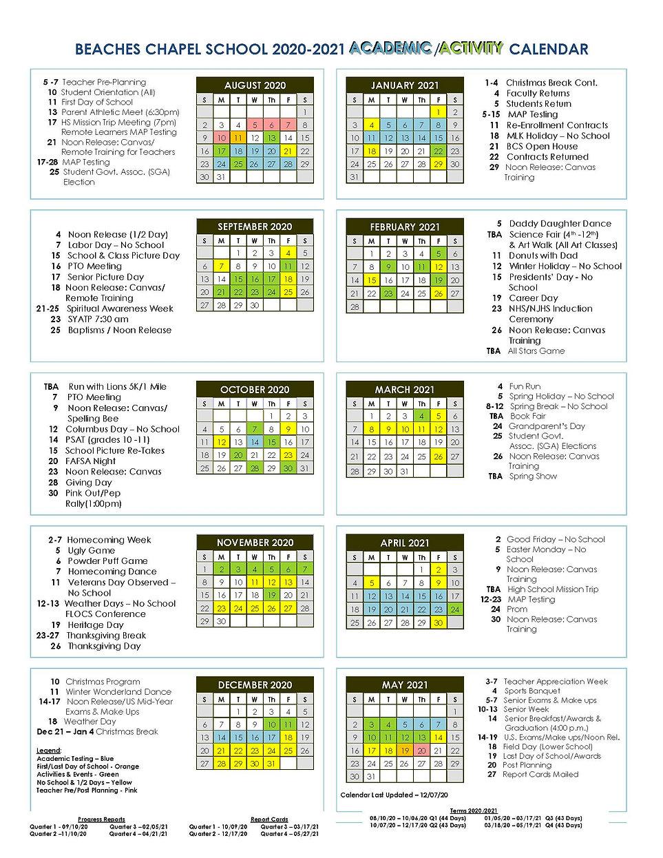 BCS 2020-21 12.07 updated Academic Activ