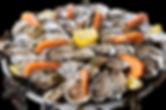 Plateau huîtres & crevettes
