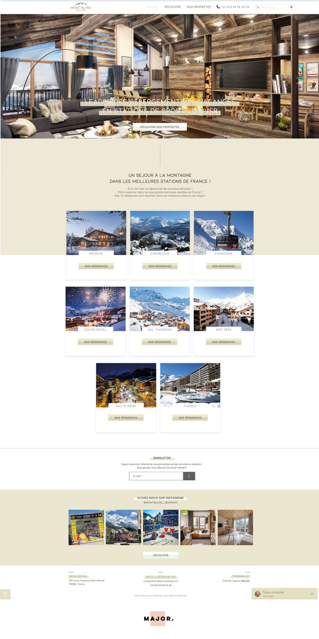 MONT-BLANC BOOKING