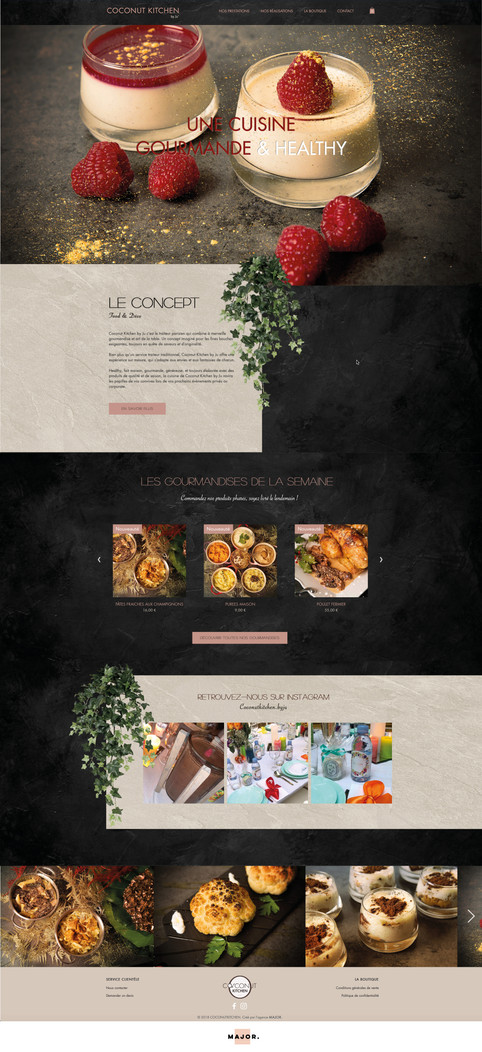 COCONUT KITCHEN BY JU'