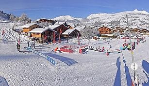 Station de ski la plagne, sports d'hiver