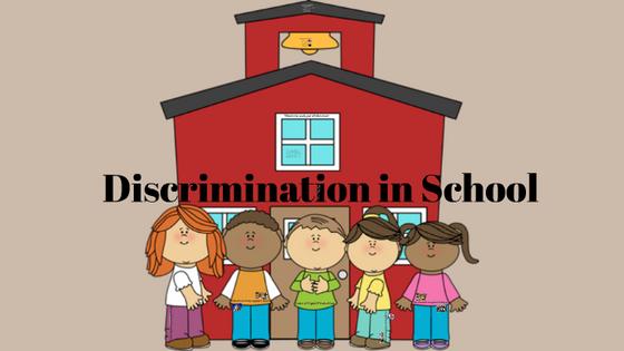 Discrimination in school begins at four: