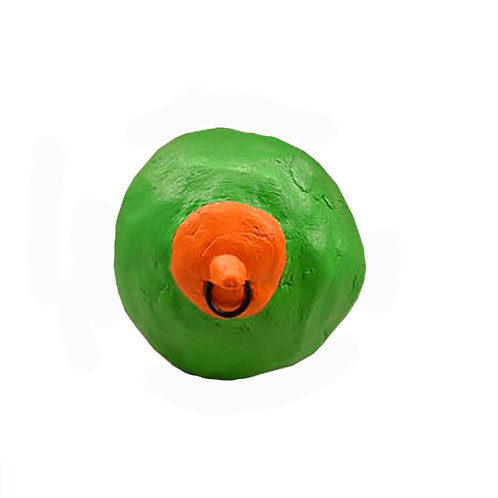 Grön tutte med piercing
