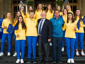 Brave Europe come up short in PING Junior Solheim Cup