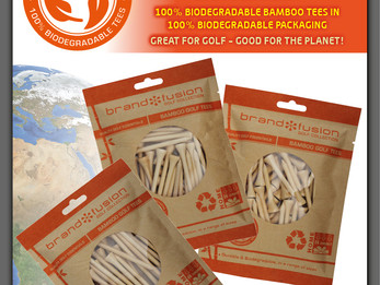 BRAND FUSION INTRODUCES BIODEGRADABLE BAMBOO TEES