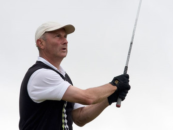 Attoe leads English Seniors' on five-under