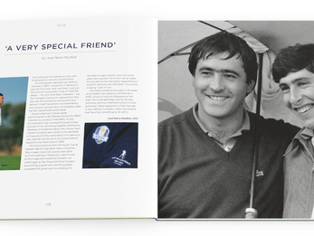 RYDER CUP STIMULATES SALES OF SEVE BOOK IN US, EUROPE & BEYOND