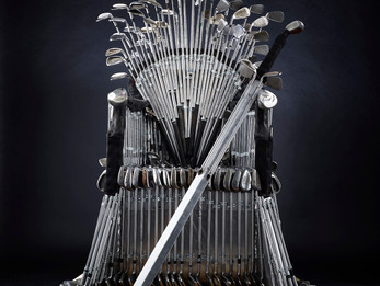 DIRECT GOLF'S 'IRONS THRONE' PAYS HOMAGE TO TV SERIES
