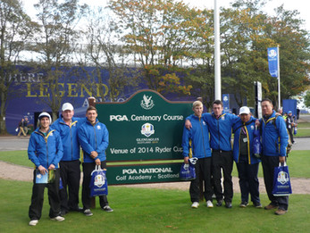 Vocational Education at the Ryder Cup 2014 – Gleneagles