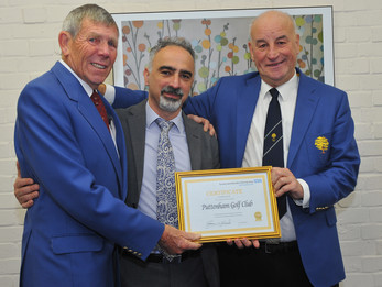 Puttenham Golf Club donation helps vital NHS dementia research
