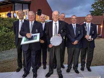 England secure double at Senior European Team Championships