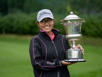 English Girls' Open Amateur Stroke Play: Xanh wins after a dramatic play-off