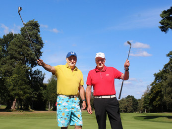 FOXHILLS' PAIR OF ACES STUNNED AT THEIR DOUBLE HOLE-IN-ONE FEAT