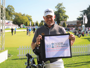 AMERICAN GOLF CUSTOMERS RAISE OVER £15,000 IN NATIONAL GOLF CLUB CHALLENGE SUMMER RAFFLE