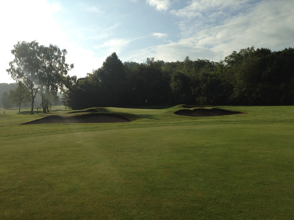 Tyrrells Wood Golf Club 3rd Hole June 2014.jpg
