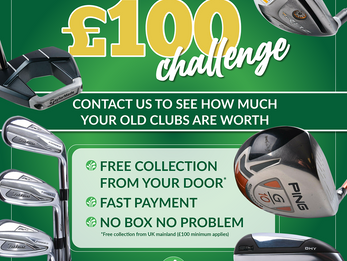 CLEAR OUT AND CASH IN WITH THE GC4C £100 CHALLENGE!