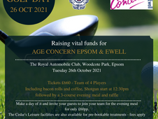 Age Concern Charity Golf Day
