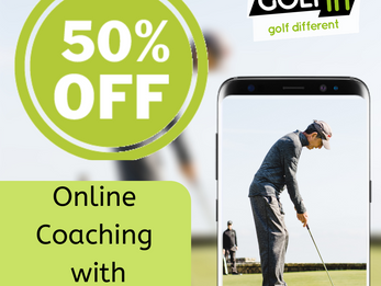 GOLFIN TO HELP GOLFERS THROUGH LOCKDOWN WITH 50% OFF ONLINE COACHING PACKAGES