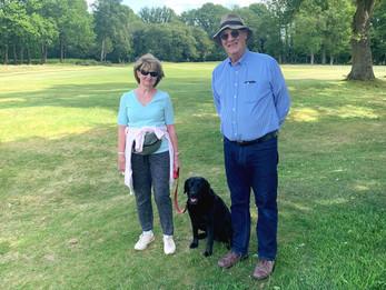 Berkhamsted's dog walkers welcome back golfers