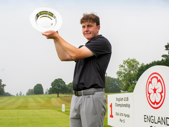 Forrester makes   history with three-shot victory at English Under 18 Championship