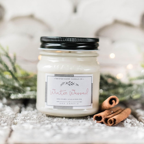 Winter Wassail Mason Jar