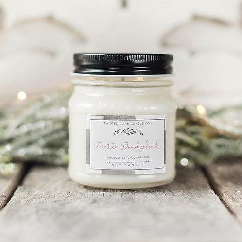 Winter Wonderland Mason Jar