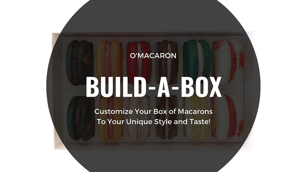 Build A Box (Choose 12 Macarons)