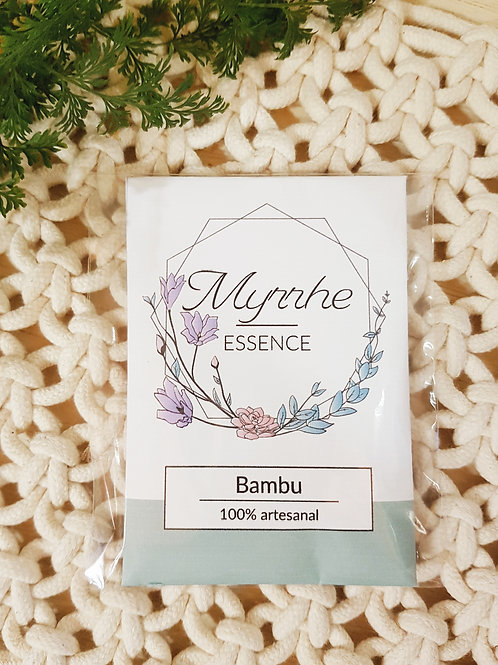MINI ENVELOPE PERFUMADO - BAMBU