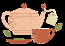 Amarelo e Rosa Flores Geométricas Chá de Panela Agradecimento Cartão.png