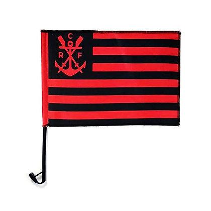 Bandeira de carro Flamengo (escudo remo)