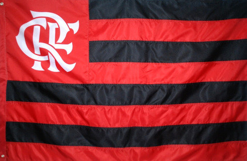 Bandeira Oficial Flamengo (2 panos - 1,28x0,90)
