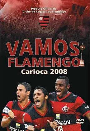 DVD - VAMOS FLAMENGO, CARIOCA 2008