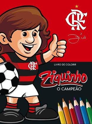 Livro de Colorir Ziquinho