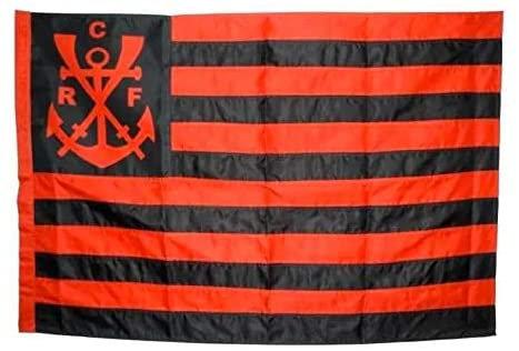 Bandeira Oficial Flamengo (1 1/2 panos -0,96x0,68)
