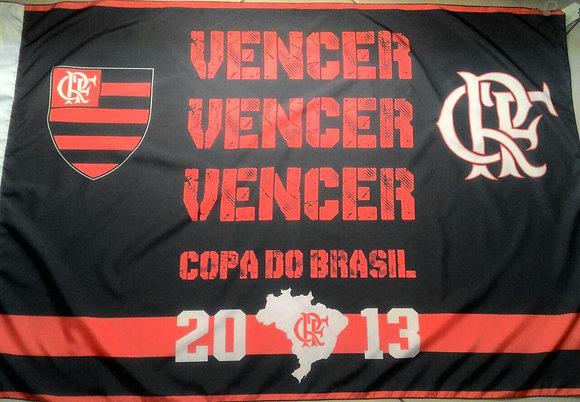 BANDEIRA COPA DO BRASIL 2013 2 PANOS (0,90 X 1,28)