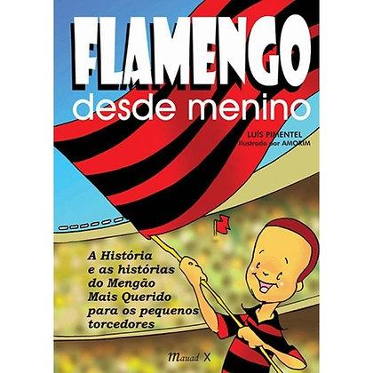 Livro FlamengoDesde Menino
