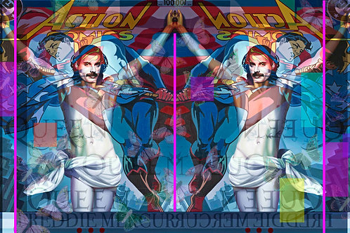 Freddie Mercury Fleece