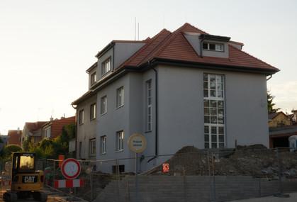 Nová střecha Vidoule