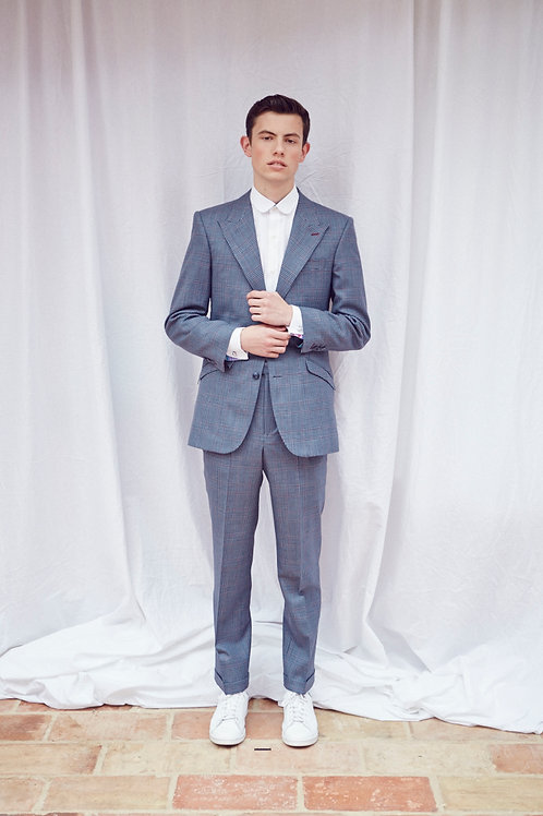 Bespoke hand made suit