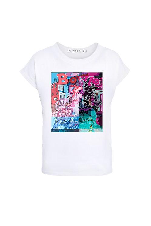 David Bowie Ladies T-Shirt