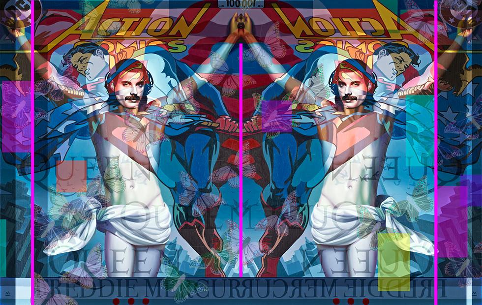"""Reflected Glory"" Freddie Mercury"