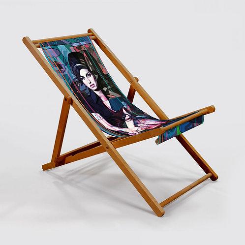 Amy Winehouse Deckchair