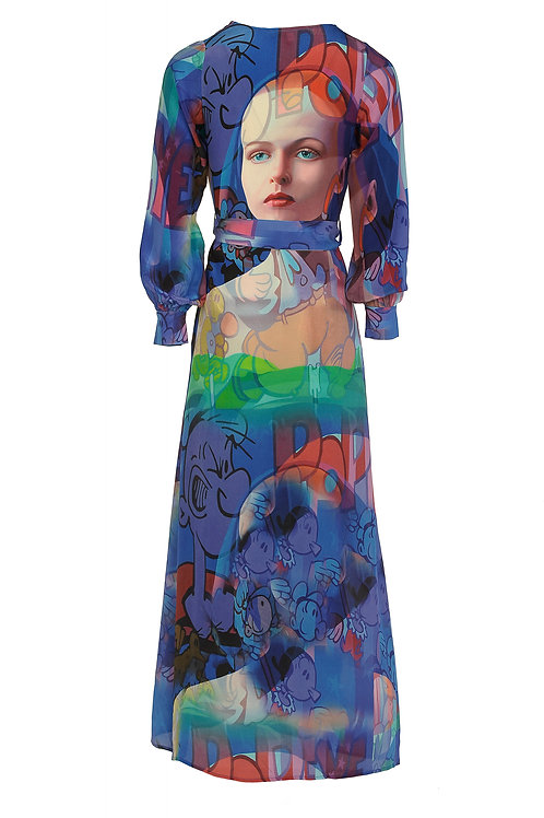 Time Travellers Wife Silk Robe