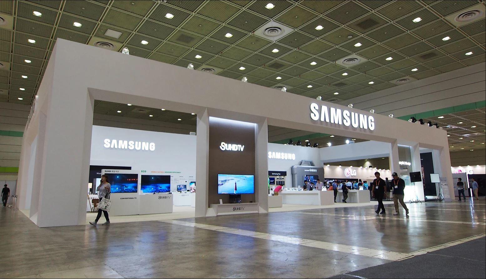 2015 World IT Show SAMSUNG