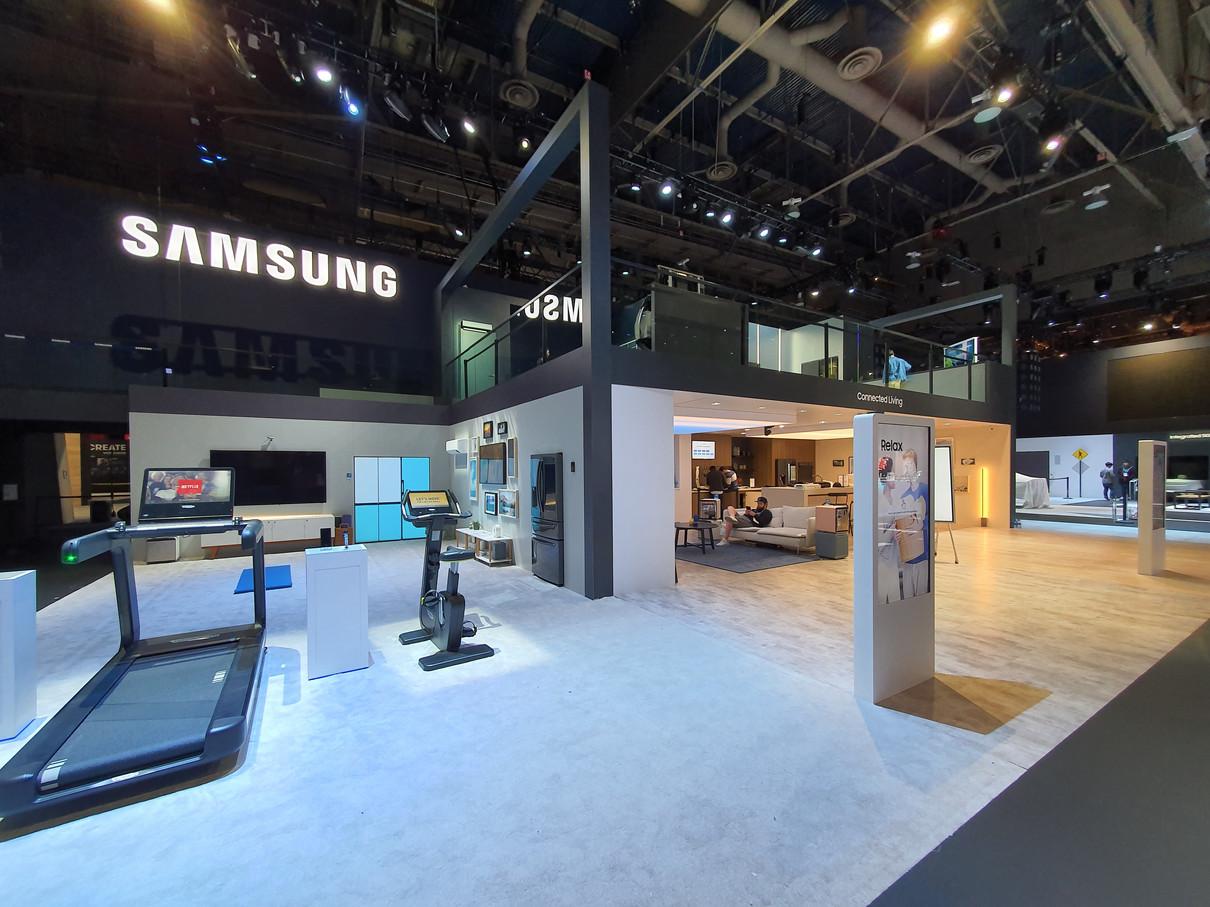 CES 2020 Samsung