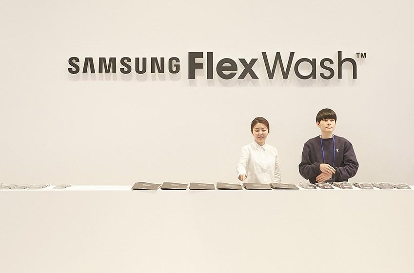 SAMSUNG FlexWash MEDIA DAY