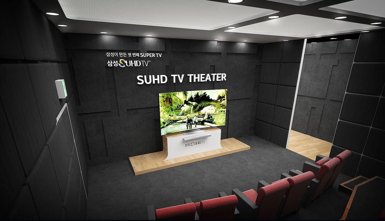 SAMSUNG SUHD TV LAUNCHING
