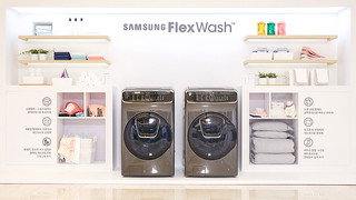 SAMSUNG FlexWash MEDIA DAY