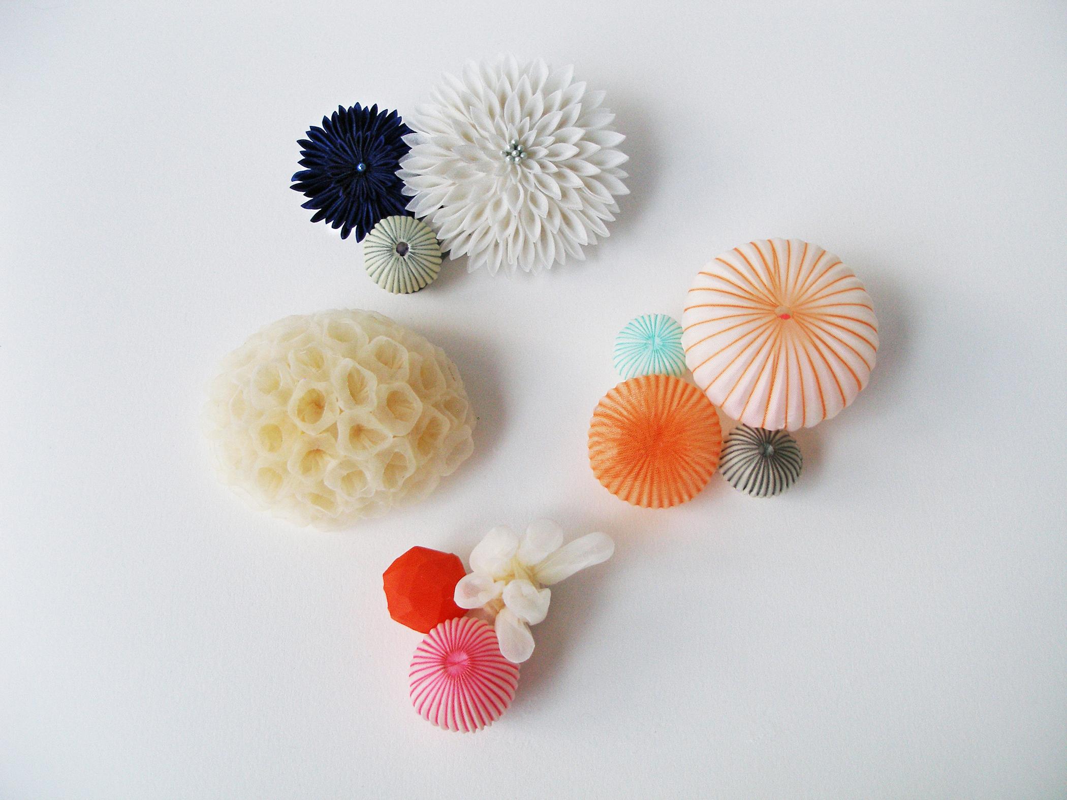 Mariko Kusumoto fiber art